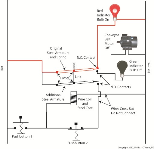 Motor Control Relay