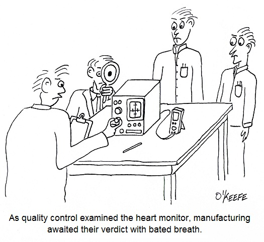 Medical device quality control.