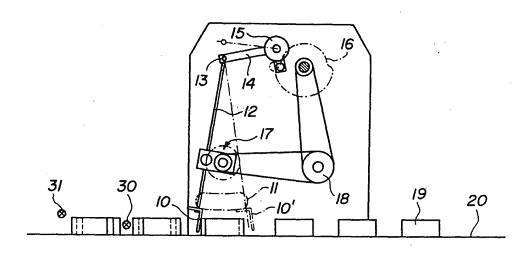 food manufacturing equipment patent drawing