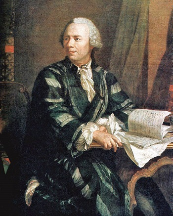 Leonhard Euler, a Historical Figure in Pulleys